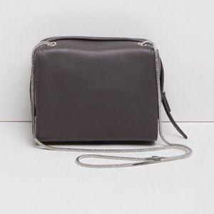 3.1 Phillip Lim Soleil Mini Zip Crossbody Bag Grey